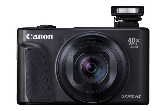 Get closer to your travel adventure with Canon's new PowerShot SX740