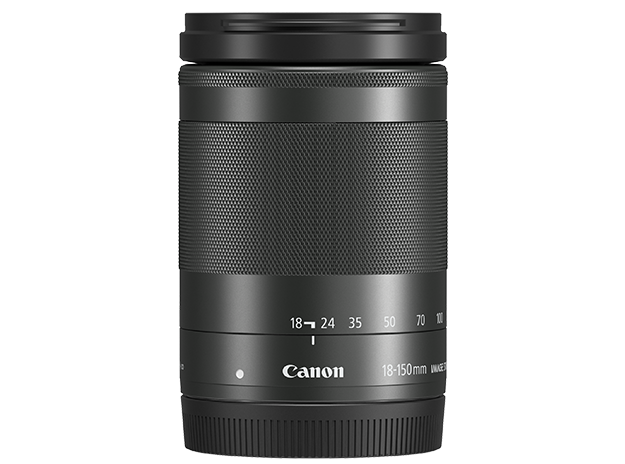 EF-M 18-150mm f/3.5-6.3 IS STM angle shot