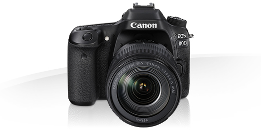 Canon EOS 80D - EOS Digital SLR and Compact System Cameras