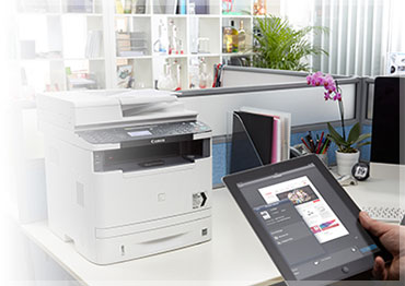 Mobile printing to Canon laser printers