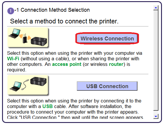 PIXMA MP495 Wireless Connection Setup Guide - Canon Europe